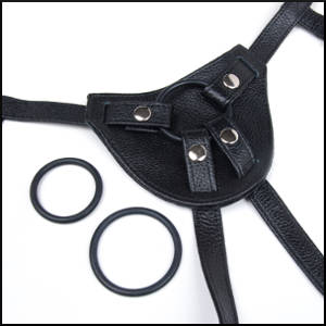 All Leather Strap-On Harness