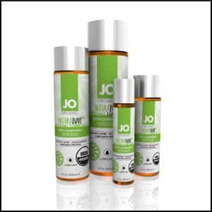 System JO USDA Organic Lubricant